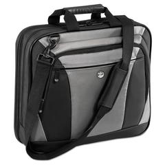 "Targus CityLite Laptop Case 15.6"", 13-1/2 x  4-3/5 x 17-1/2, Black/Gray"