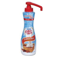 Liquid Coffee Creamer, Pumpkin Spice, 21oz Pump Bottle