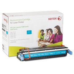 Xerox 6R1314 Replacement Toner for C9731A, 12800 Page Yield, Cyan