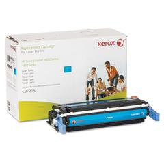 Xerox 6R942 Replacement Toner for C9721A, 10000 Page Yield, Cyan
