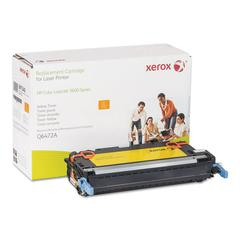 006R01340 Replacement Toner for Q6472A (502A), Yellow