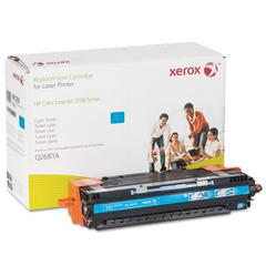 Xerox 6R1293 Replacement Toner for Q2681A, 6200 Page Yield, Cyan