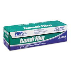 "Handi-Foil of America Handi-Film Standard Cling Film, Clear, 18"" x 2000 ft"