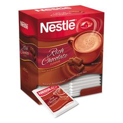 Hot Cocoa Mix, Rich Chocolate, 0.71 oz Packets, 50/Box, 6 Box/Carton