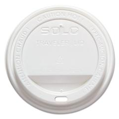 Traveler Drink-Thru Lid, White, 1000/Carton