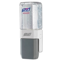 PURELL ES Everywhere System, For 450 mL Refills, White/Gray, 8/Carton