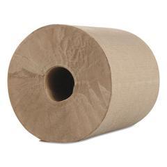 "Hardwound Roll Towels, Kraft, 1-Ply, 600 ft, 7.8"" Dia, 12/Carton"