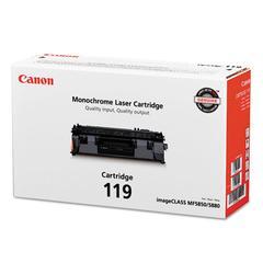 Canon 3479B001 (CRG-119) Toner, Black