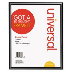 Universal Glossy Black Poster Frame, 16 x 20