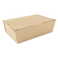 SCT ChampPak Carryout Boxes, Brown, 7 3/4 x 5 1/2 x 2 1/2, 200/Carton