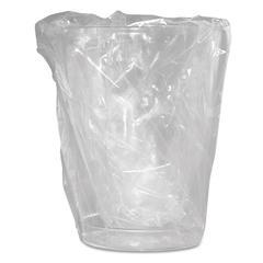 Wrapped Plastic Cups, 10oz, Translucent, 500/Carton