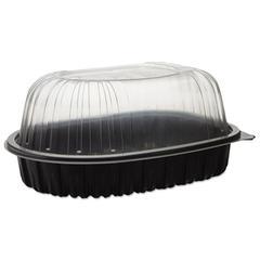 EarthChoice Roaster Combo, Black/Clear, 7.7 x 4.5 x 4.5, 110/Carton