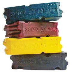 Xerox 108R00832 Ink Sticks, 40,000 Page-Yield, Black, 4/Box