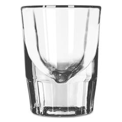"""Whiskey Service Drinking Glasses, Fluted Shot Glass, 1-1/2oz, 2-7/8""""H, 48/CT"""