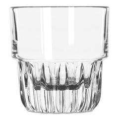 Everest Rocks Glasses, 5 oz, Clear, Juice Glass, 36/Carton