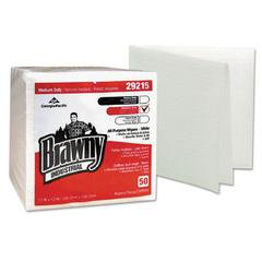 Medium Duty Airlaid 1/4-Fold Wipers, 13 x 13, 50/Pack, 16/Carton