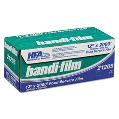 """Handi-Film Standard Cling Film, Clear, 12"""" x 2000 ft"""