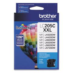 Brother LC205C Innobella Super High-Yield Ink, Cyan
