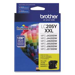 Brother LC205Y Innobella Super High-Yield Ink, Yellow