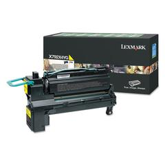 X792X4YG (X792) Extra High-Yield Toner, 20000 Page-Yield, Yellow