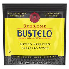 Café Bustelo Coffee, Espresso, 7 g Coffee Pod