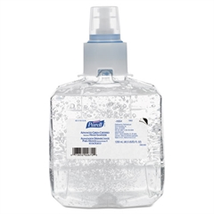 PURELL Advanced Green Certified Hand Sanitizer Refill, 1200mL, FragFree, 2/Carton