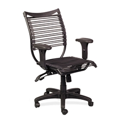 BALT Seatflex Series Swivel/Tilt Chair w/Arms, Black