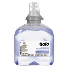 GOJO TFX Luxury Foam Hand Wash, Fresh Scent, Dispenser, 1200mL, 2/Carton