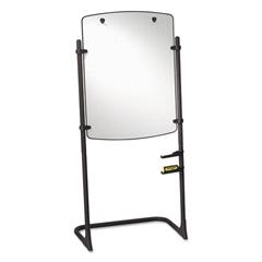 Quartet Total Erase Presentation Dry Erase Easel, 31 x 41, White, Black Steel Frame