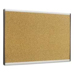 ARC Frame Cork Cubicle Board, 14 x 24, Tan, Aluminum Frame