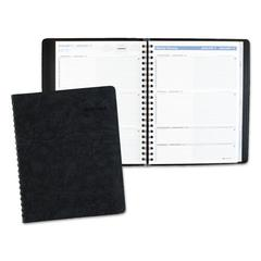 The Action Planner Weekly Appointment Book, 8 1/8 x 10 7/8, Black, 2017