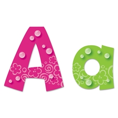 TREND Ready Letters Playful Bubbles Combo Pack, Assorted Colors, 216 per Pack