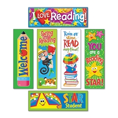 TREND Bookmark Combo Packs, Reading Fun Variety Pack #2, 2w x 6h, 216/Pack