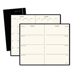 AT-A-GLANCE PLAN.WRITE.REMEMBER. Weekly/Monthly Planner, 5 x 8 1/4, Black, 2016