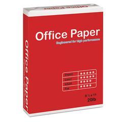 Soporcel North America Multipurpose Copy Paper, 96 Bright, 20 lb, 8 1/2 x 11, White, 5000 Sheets/Carton