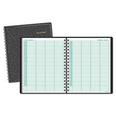 Four-Person Group Daily Appointment Book, 8 x 10 7/8, White, 2017