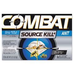 Combat Combat Ant Killing System, Child-Resistant, Kills Queen & Colony, 6/Box