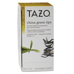 Tazo Tea Bags, China Green Tips, 24/Box