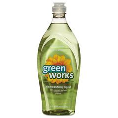 Green Works Dishwashing Liquid, Original, 22oz Bottle
