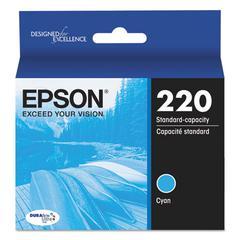 Epson T220220 (220) DURABrite Ultra Ink, Cyan