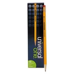 Universal Blackstonian Pencil, F #2.5, Medium Firm, Yellow, Dozen