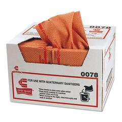 Pro-Quat Fresh Guy Food Service Towels, Heavy Duty, 12 1/2 x 17, Red, 150/Carton