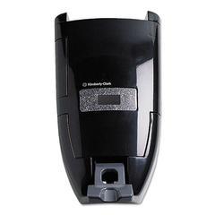 KIMBERLY-CLARK PROFESSIONAL* In-Sight Sanituff Push Dispenser, 3 1/2L/8L, 10 3/4w x 7d x 17 3/4h, Black