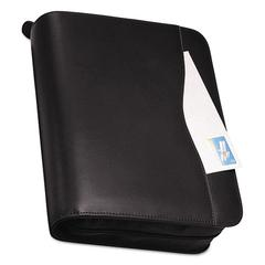 Day-Timer Verona Leather Starter Set, 8 1/2 x 11, Black Cover