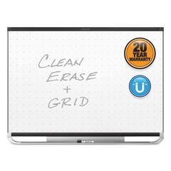 Prestige 2 Magnetic Total Erase Whiteboard, 48 x 36, Black Frame