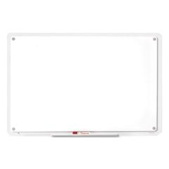 Quartet iQTotal Erase Board, 49 x 32, White, Clear Frame