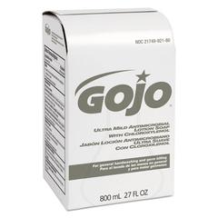 Ultra Mild Lotion Soap w/Chloroxylenol Refill, Floral Balsam, 800mL, 12/Carton