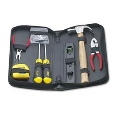 Stanley General Repair 8 Piece Tool Kit in Water-Resistant Black Zippered Case