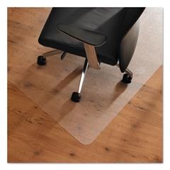 Ultimat Anti-Slip Chair Mat for Hard Floors, 48 x 53, Clear