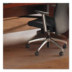 Floortex Cleartex Ultimat XXL Polycarbonate Chair Mat for Hard Floors, 60 x 60, Clear